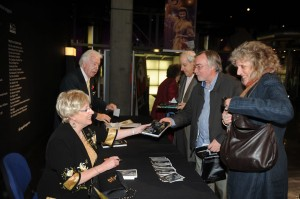 Booksigning at the British Film Institute on London's South Bank - November 2011